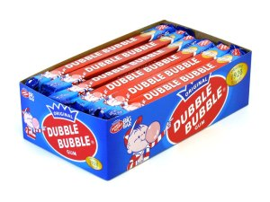 Damn you, Double Bubble, and all your sweet, chewy GAS INDUCING goodness...
