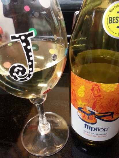 I drink this Chardonnay in your memory, Jan.... Because you know why. X's and O's. Going to miss you, my friend...