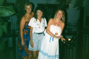 I am on the far right and still have that dress. :)