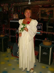 12-12-03 A wedding photo. 135-ish pounds