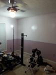 Trim and new lighting needed.