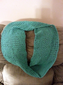 Cotton infinity scarf