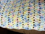 Another baby blanket... :)