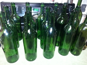 I don't have a problem; this is several months of stashing bottles. ;)