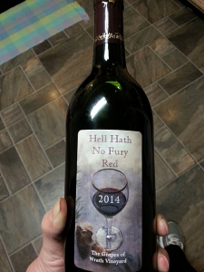 Hell Hath No Fury Red - 1st Edition, vintage 2014.
