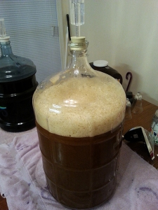 Finally in the carboy!