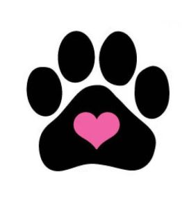 Because paw prints on our hearts...