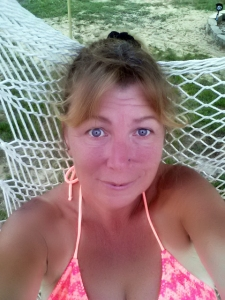 Just me in the hammock swing...